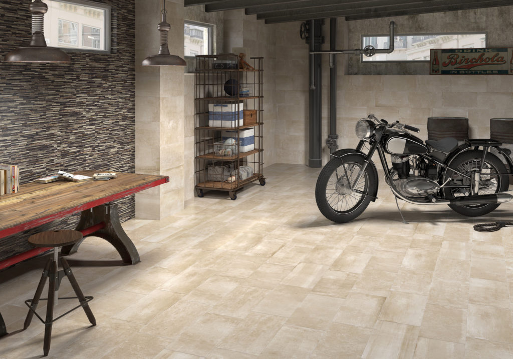 Lint Tile Flooring