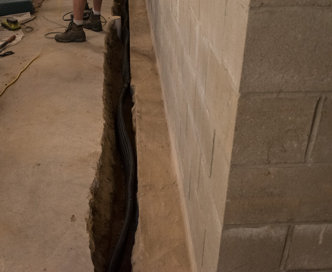 tile-in-trench